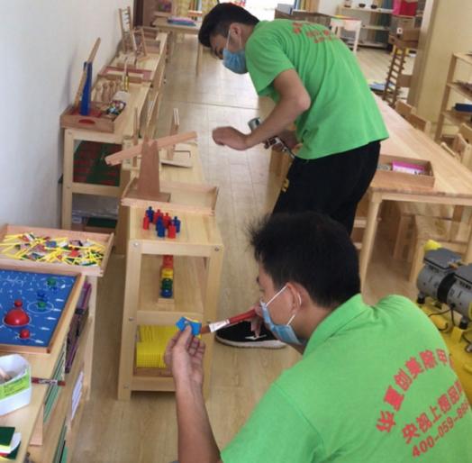 幼儿园除甲醛施工
