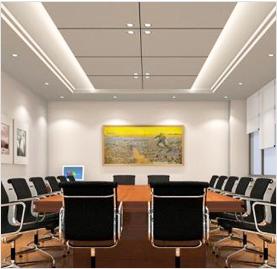 会议室墙体